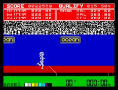 Daley Thompson's Decathlon ZX Spectrum 21