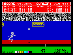 Daley Thompson's Decathlon ZX Spectrum 22