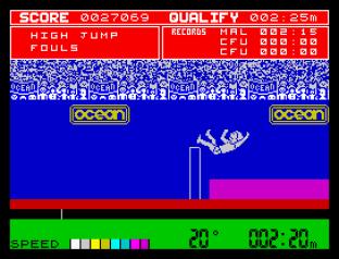 Daley Thompson's Decathlon ZX Spectrum 31