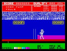 Daley Thompson's Decathlon ZX Spectrum 32