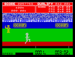Daley Thompson's Decathlon ZX Spectrum 34