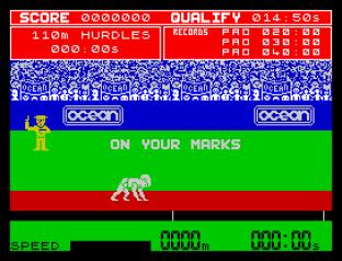 Daley Thompson's Decathlon ZX Spectrum 42