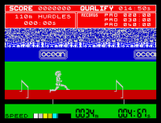 Daley Thompson's Decathlon ZX Spectrum 44