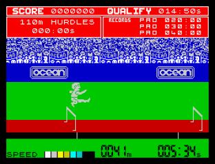 Daley Thompson's Decathlon ZX Spectrum 45