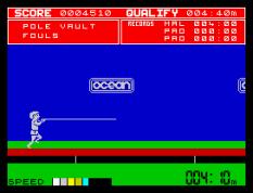 Daley Thompson's Decathlon ZX Spectrum 55