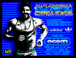 Daley Thompson's Olympic Challenge ZX Spectrum 001