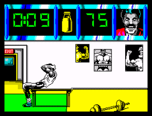 Daley Thompson's Olympic Challenge ZX Spectrum 009