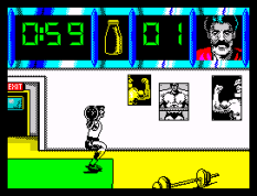 Daley Thompson's Olympic Challenge ZX Spectrum 010