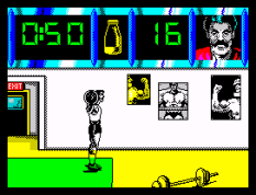 Daley Thompson's Olympic Challenge ZX Spectrum 011