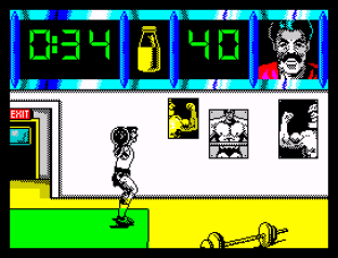 Daley Thompson's Olympic Challenge ZX Spectrum 012
