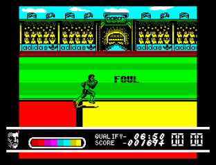 Daley Thompson's Olympic Challenge ZX Spectrum 020