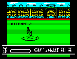 Daley Thompson's Olympic Challenge ZX Spectrum 023