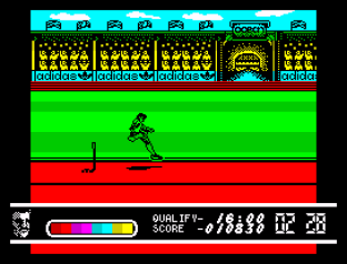 Daley Thompson's Olympic Challenge ZX Spectrum 034
