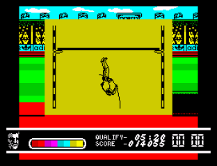 Daley Thompson's Olympic Challenge ZX Spectrum 042