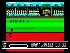 Daley Thompson's Olympic Challenge ZX Spectrum 043
