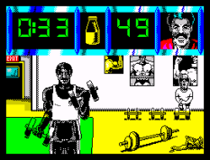Daley Thompson's Olympic Challenge ZX Spectrum 054