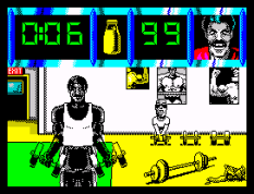Daley Thompson's Olympic Challenge ZX Spectrum 055