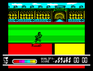 Daley Thompson's Olympic Challenge ZX Spectrum 064