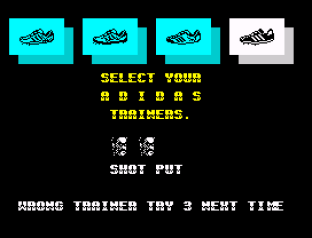 Daley Thompson's Olympic Challenge ZX Spectrum 067
