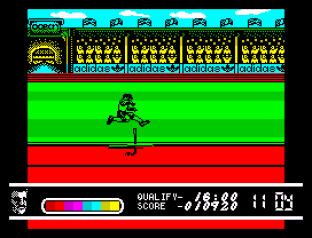 Daley Thompson's Olympic Challenge ZX Spectrum 086
