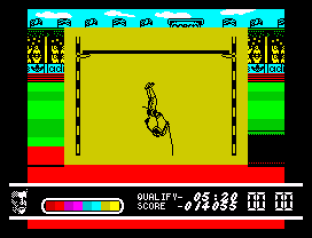 Daley Thompson's Olympic Challenge ZX Spectrum 097