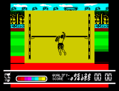 Daley Thompson's Olympic Challenge ZX Spectrum 098