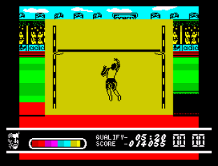 Daley Thompson's Olympic Challenge ZX Spectrum 100
