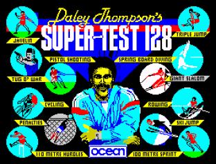 Daley Thompson's Supertest ZX Spectrum 001