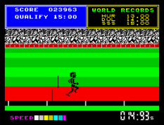 Daley Thompson's Supertest ZX Spectrum 033
