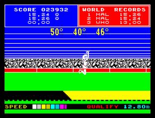 Daley Thompson's Supertest ZX Spectrum 075