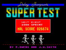 Daley Thompson's Supertest ZX Spectrum 077