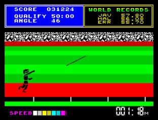Daley Thompson's Supertest ZX Spectrum 086