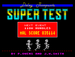Daley Thompson's Supertest ZX Spectrum 090