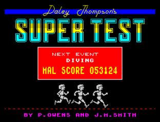 Daley Thompson's Supertest ZX Spectrum 111