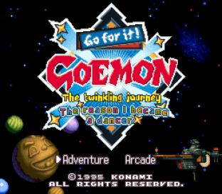 Ganbare Goemon 4 SNES 001