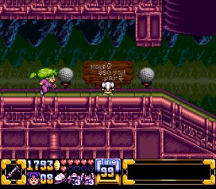Ganbare Goemon 4 SNES 199