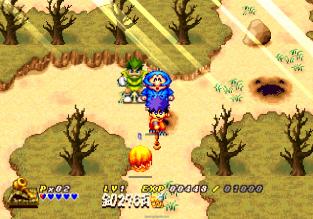 Ganbare Goemon - Space Pirate Akogingu PS1 075
