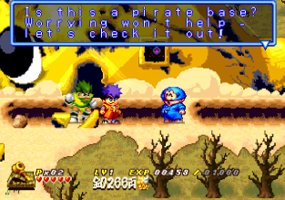 Ganbare Goemon - Space Pirate Akogingu PS1 078