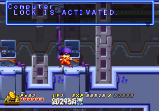 Ganbare Goemon - Space Pirate Akogingu PS1 086