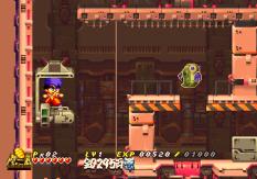 Ganbare Goemon - Space Pirate Akogingu PS1 087