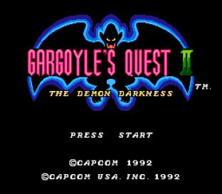 Gargoyle's Quest 2 NES 01