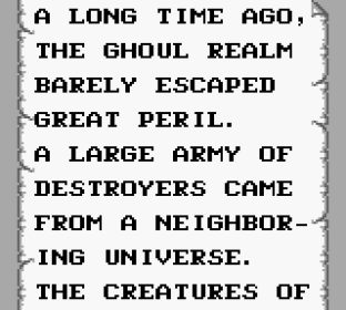Gargoyle's Quest Game Boy 01