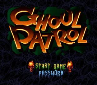 Ghoul Patrol SNES 001