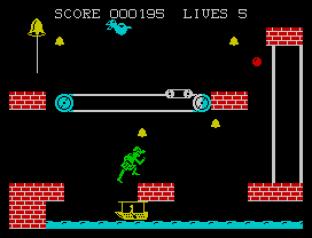 Hunchback 2 ZX Spectrum 09