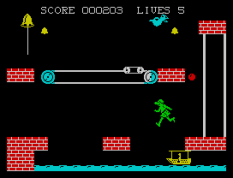 Hunchback 2 ZX Spectrum 10