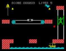 Hunchback 2 ZX Spectrum 11