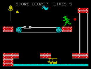 Hunchback 2 ZX Spectrum 12