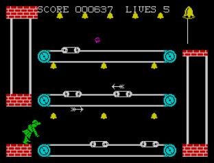 Hunchback 2 ZX Spectrum 20