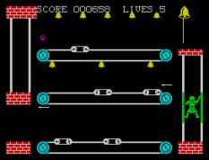 Hunchback 2 ZX Spectrum 21
