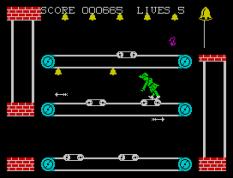 Hunchback 2 ZX Spectrum 22